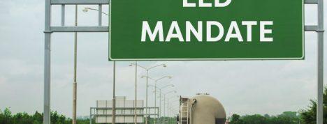 ELD mandate sign