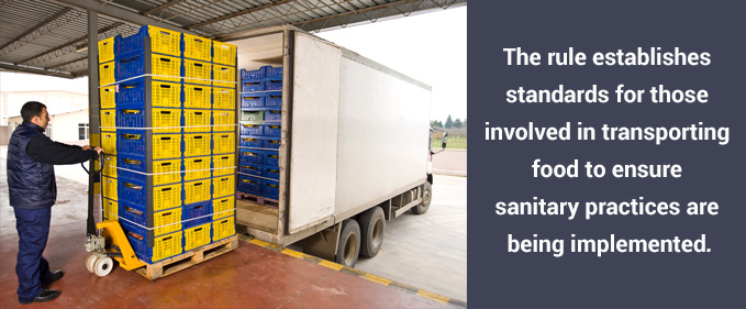 food transportation safety sanitary practices